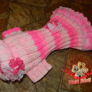 Šatičky růžové