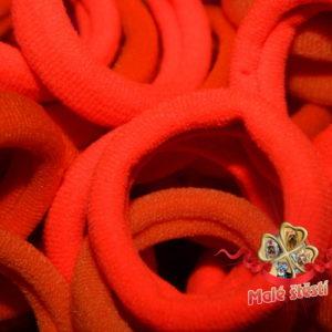 Froté gumička oranžový mix, 10 ks