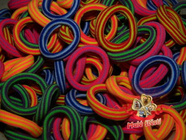 Froté gumička mix 1, 10 ks