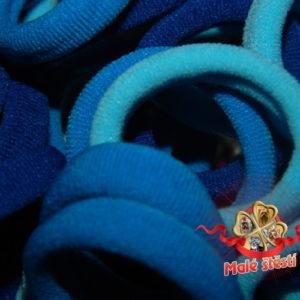 Froté gumička modrý mix, 10 ks