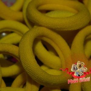 Froté gumička žlutý mix, 10 ks
