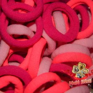 Froté gumička růžový mix, 10 ks